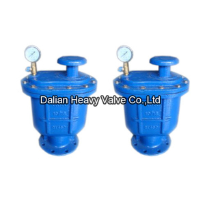 Combined Air Valve For Clear Water