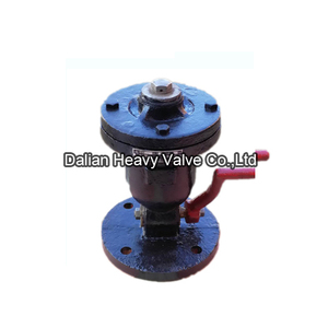 Single Hole Air Valve With Plug Valve