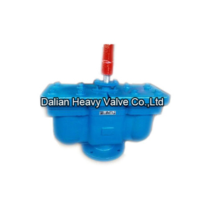 Double Hole Air Valve With Plug Valve