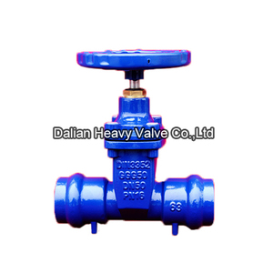 Socket End Resilient Soft Seat Gate Valve