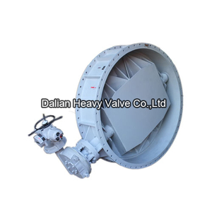Automatic Regulating High Temperature Butterfly Valve